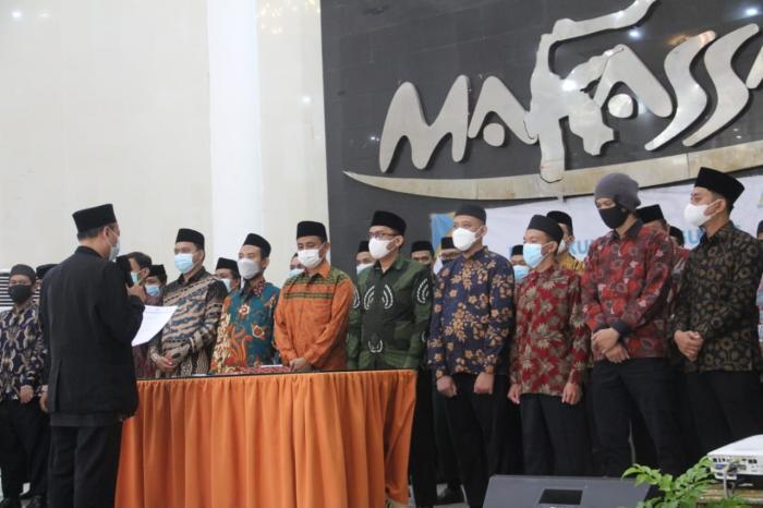 Pengukuhan Pengurus Wahdah Makassar, Pemerintah Kota Harap Sinergi Program