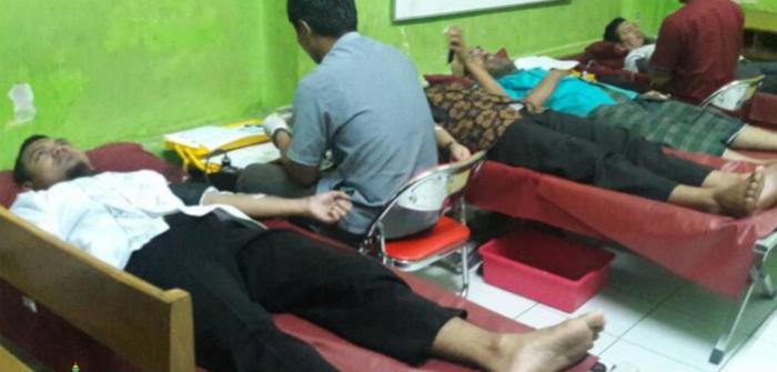 Wahdah Makassar Sukses Menyelenggarakan Donor Darah Sukarela