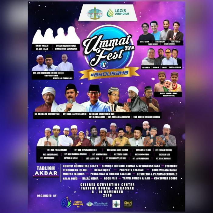 Persiapan Mukernas, Wahdah Islamiyah Akan Gelar Ummat Fest 2019