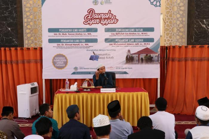 Wahdah Makassar Bentuk Komunitas Talaqqi Kitab lewat Daurah Syar'iyyah