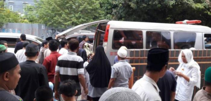 Wahdah Makassar Selenggarakan Jenazah Muslim Tionghoa