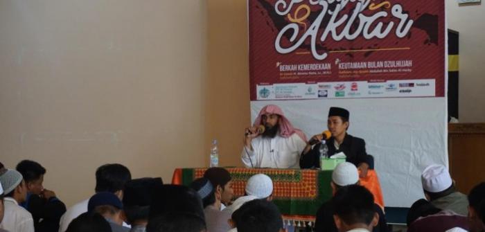 Tabligh Akbar Wahdah Makassar di Masjid Al-Abrar Dipadati Kaum Muslimin
