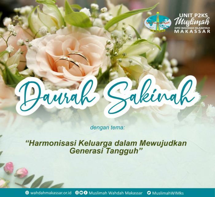 MWD Makassar Usung Daurah Sakinah Bentuk Keluarga Sehidup Sesurga