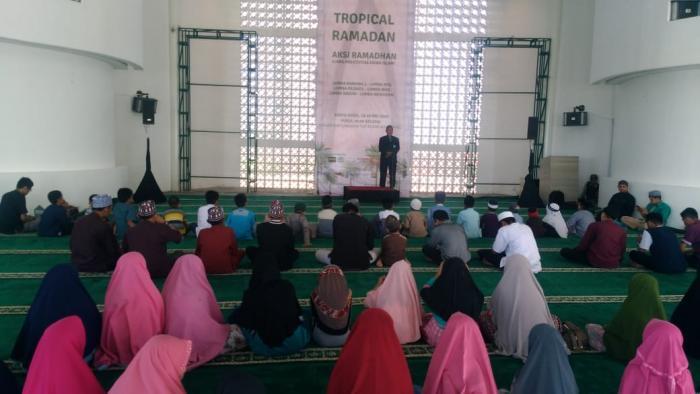 AKSI Ramadhan Nipah Mall, Dibuka Ketua LP3Q  DPD Wahdah Islamiyah