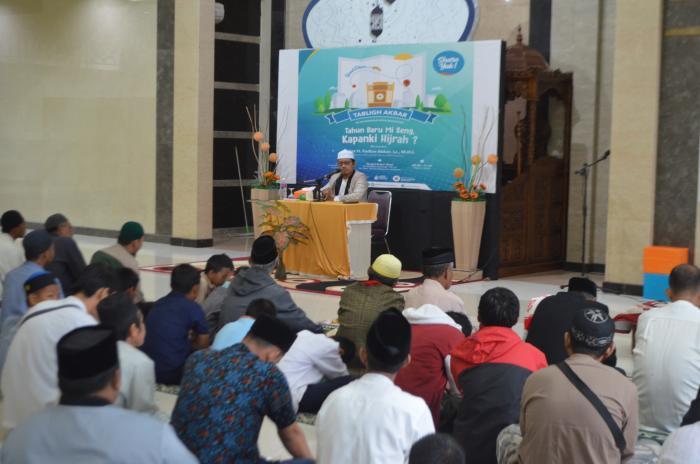 Wahdah Kecamatan Makassar Ajak Berhijrah Lewat Tabligh Akbar