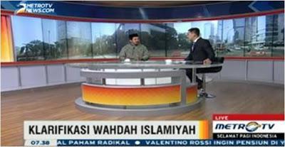 Klarifikasi Wahdah Islamiyah di Metro TV