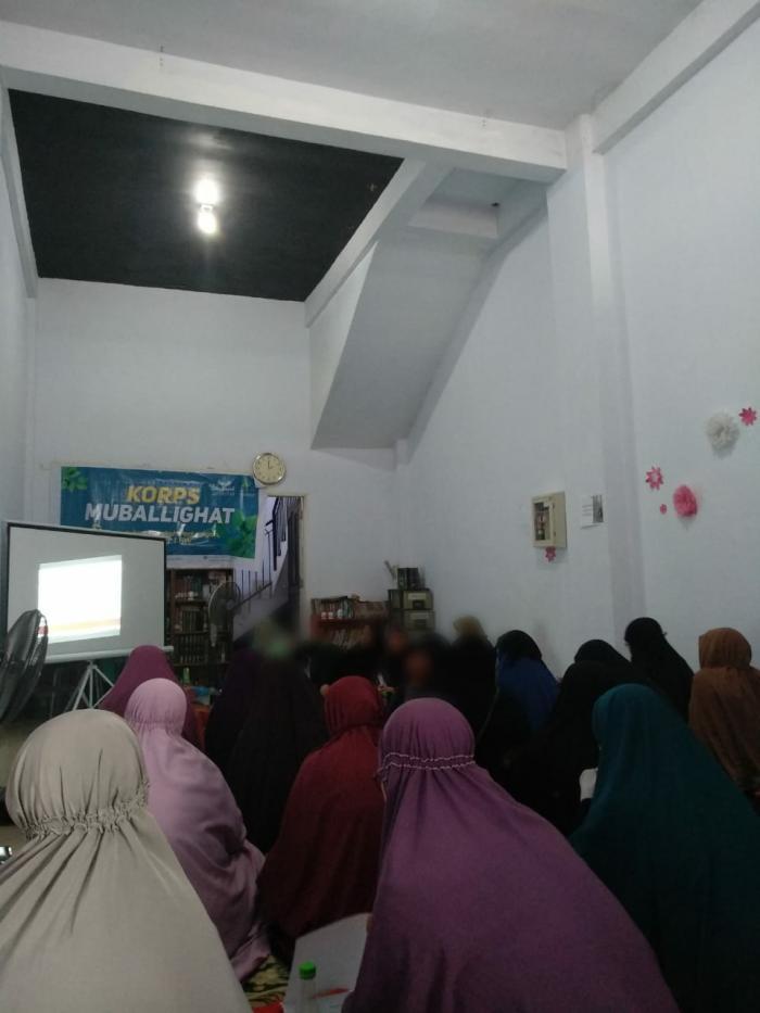 Unit Majelis Taklim Muslimah Wahdah Adakan Pertemuan Muballighat