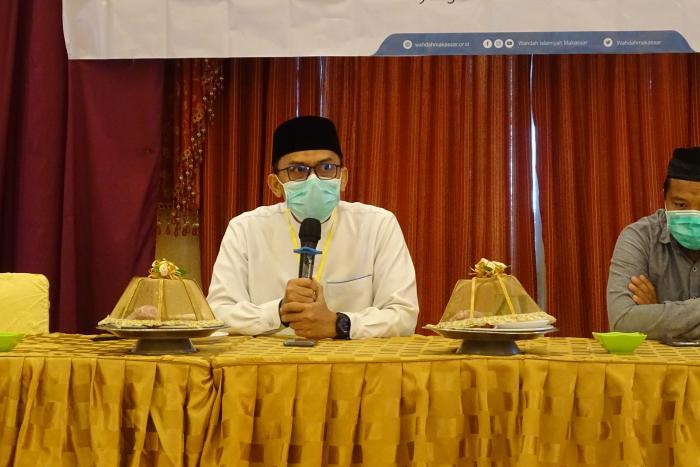 Ustadz Gishar Hamka kembali Nakhodai DPD Wahdah Islamiyah Makassar