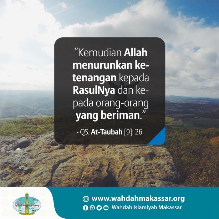At Taubah (9) : 26