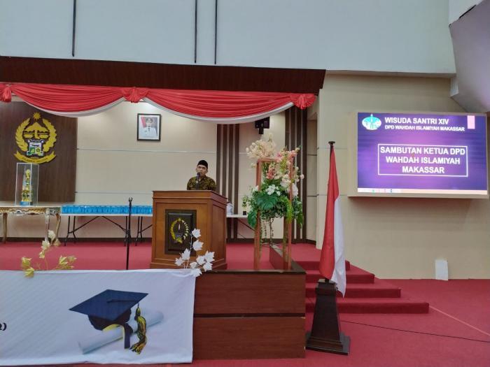 Ketua Wahdah Makassar: Santri itu Tidak Boleh Ada Rasa Jenuh dalam Belajar Al-Qur'an