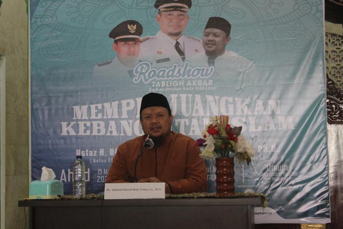 Wahdah Islamiyah Ujung Pandang Adakan Tabligh Akbar Bertemakan Memperjuangkan Kebangkitan Islam