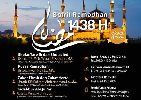 Spirit Ramadhan 1438 H