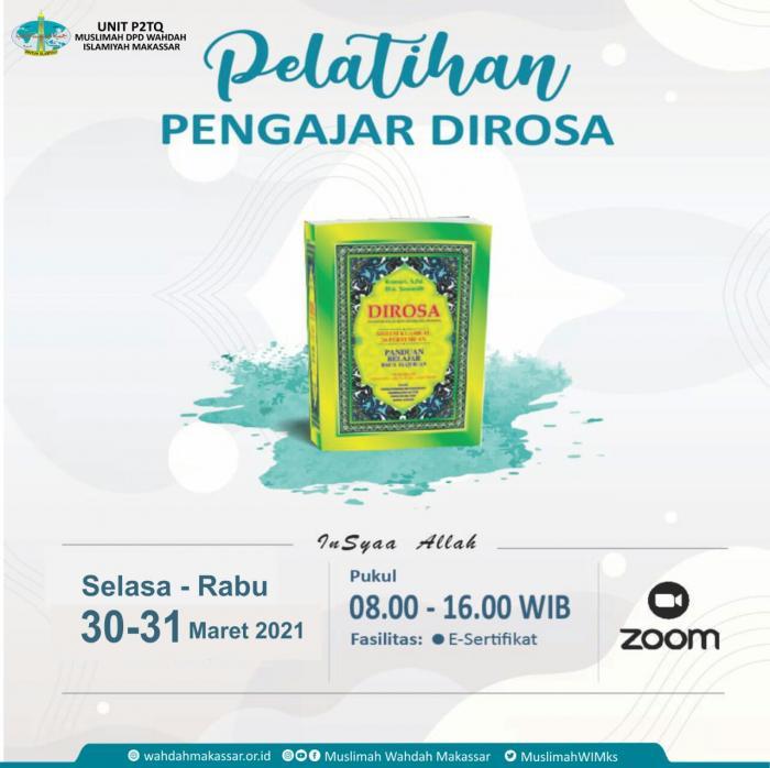 Bumikan Al-Qur'an, MWD Makassar Siap Lahirkan Pengajar Dirosa