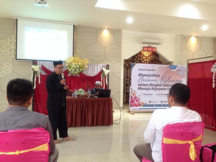 Wujudkan Keluarga Rumahku Surgaku, Wahdah Islamiyah Makassar Adakan Daurah Sakinah